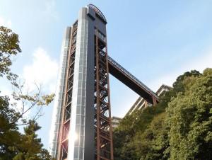 Elevator to Minoh Kankou Hotel